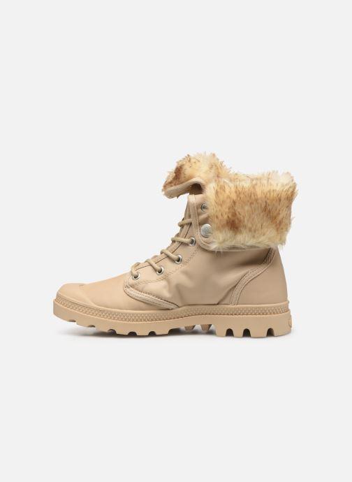 Bottines et boots Palladium Baggy Wtx W Beige vue face