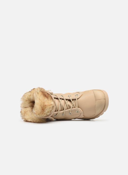 Bottines et boots Palladium Baggy Wtx W Beige vue gauche