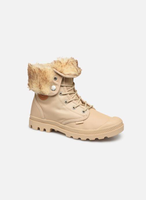 Bottines et boots Palladium Baggy Wtx W Beige vue détail/paire