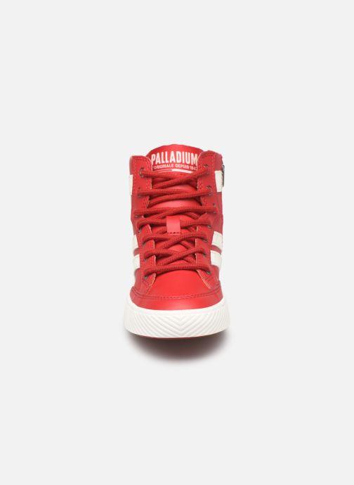 Baskets Palladium Plflame Hi S K Rouge vue portées chaussures