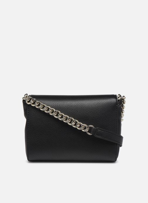 Handtassen Guess ALMA MINI CROSSBODY FLAP Zwart voorkant
