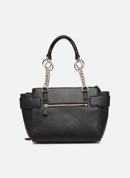 Borse Guess ANALISE SOCIETY SATCHEL Nero immagine frontale