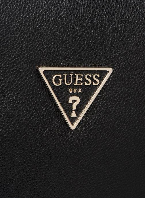 Handtassen Guess ANALISE SOCIETY SATCHEL Zwart links