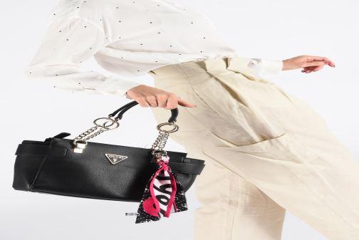 Handtassen Guess ANALISE SOCIETY SATCHEL Zwart onder