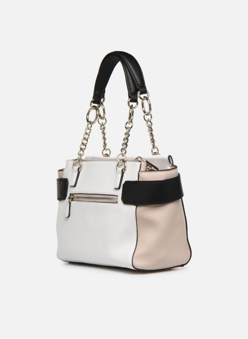 Handbags Guess ANALISE SOCIETY SATCHEL White view from the right