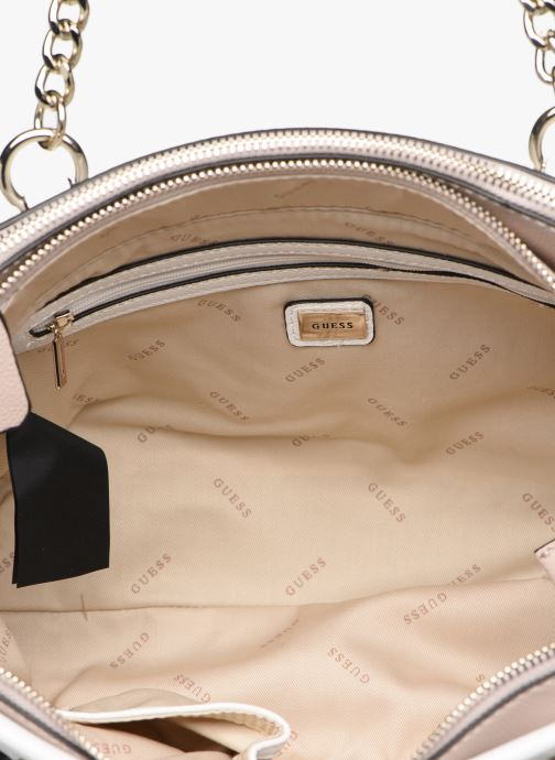 Handbags Guess ANALISE SOCIETY SATCHEL White back view