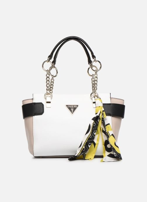 Handbags Guess ANALISE SOCIETY SATCHEL White detailed view/ Pair view