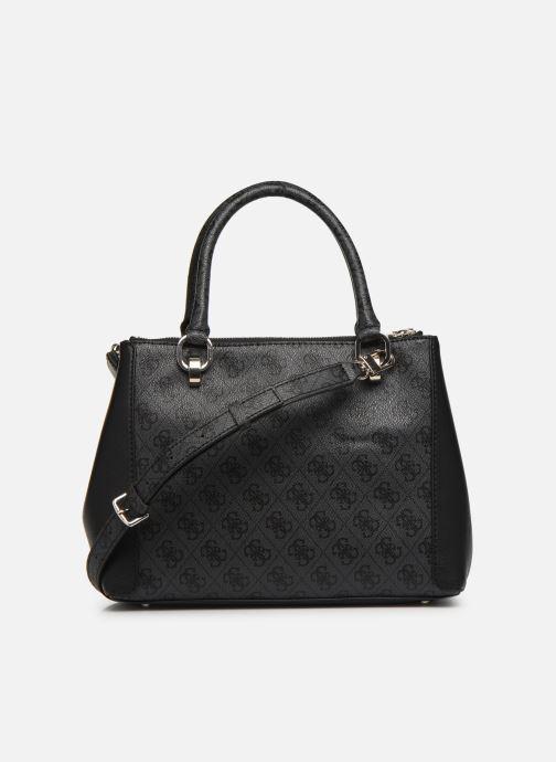 Handtassen Guess BLUEBELLE STATUS SATCHEL Zwart voorkant