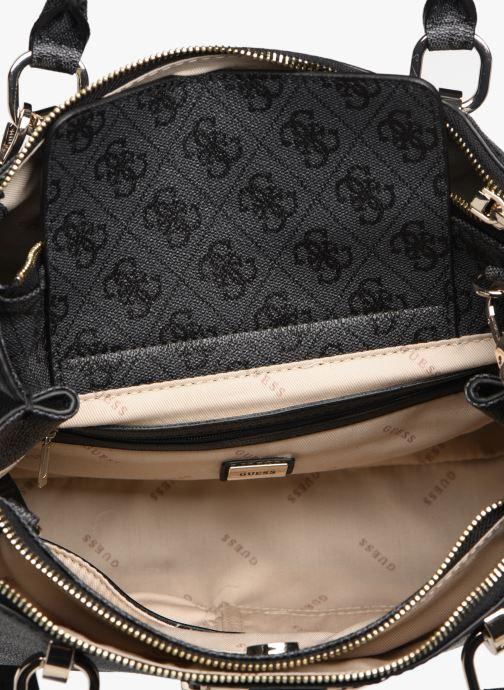 Handtassen Guess BLUEBELLE STATUS SATCHEL Zwart achterkant