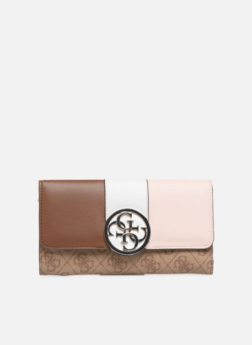 Wallets & cases Guess BLUEBELLE POCKET TRIFOLD Brown detailed view/ Pair view