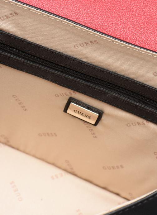Handtassen Guess CAMILA CONVERTIBLE CROSSBODY FLAP Rood achterkant