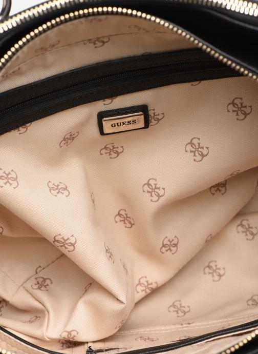 Handtassen Guess CARINA SOCIETY SACTHEL Zwart achterkant