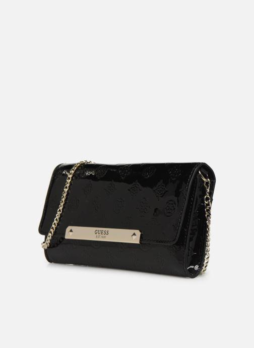 Bolsos de mano Guess HIGHLIGHT CLUTCH Negro vista del modelo
