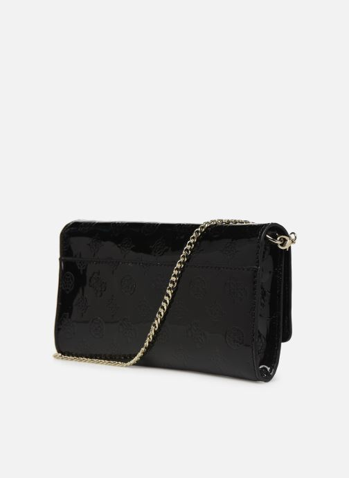 Sacs à main Guess HIGHLIGHT CLUTCH Noir vue droite