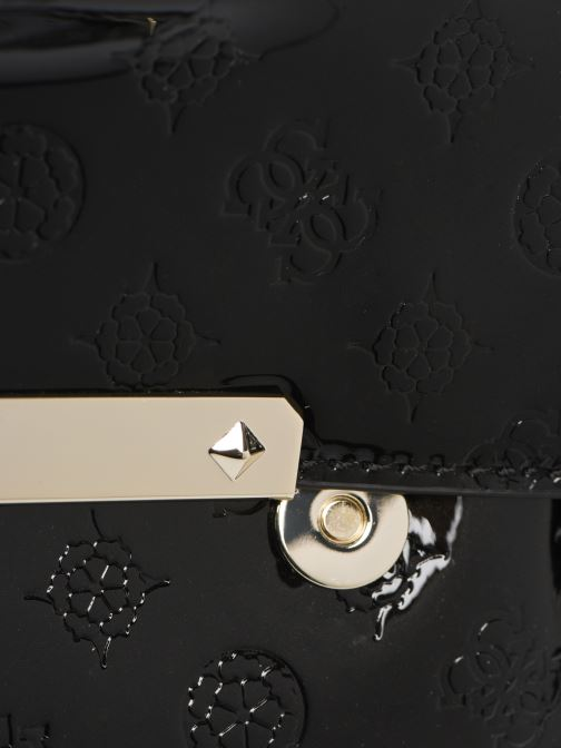 Bolsos de mano Guess HIGHLIGHT CLUTCH Negro vista lateral izquierda