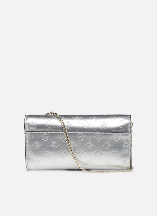Sacs à main Guess HIGHLIGHT CLUTCH Argent vue face