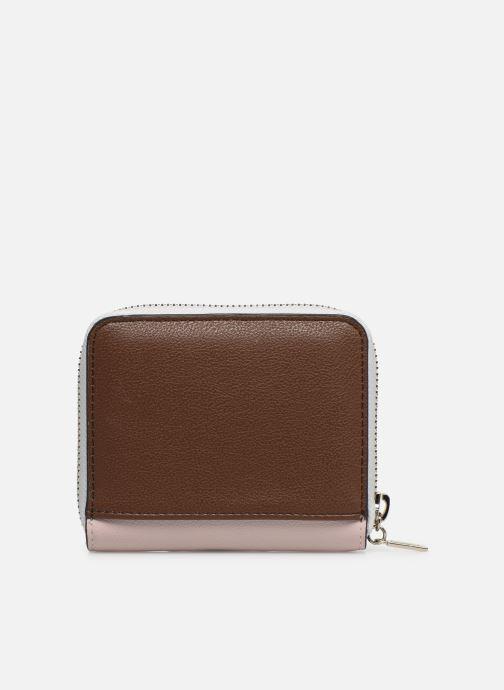 Portemonnaies & Clutches Guess KAMRYN SMALL ZIP AROUND rosa ansicht von vorne