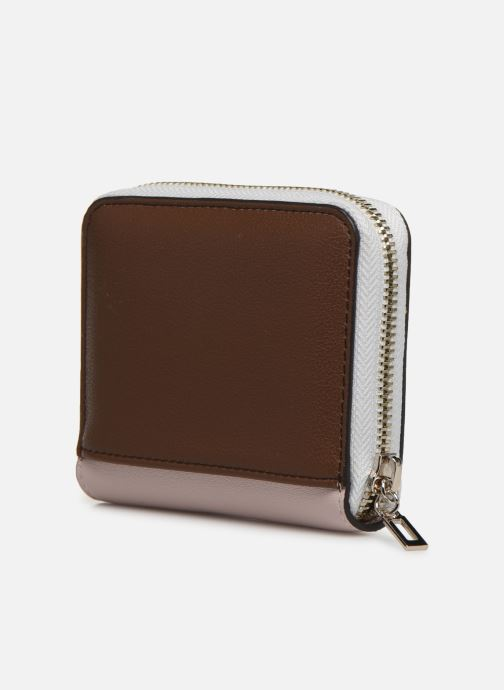 Portemonnaies & Clutches Guess KAMRYN SMALL ZIP AROUND rosa ansicht von rechts