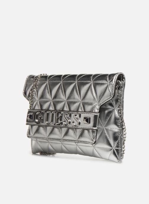 Clutch bags Guess LAIKEN MINI CROSSBODY CLUTCH Silver model view