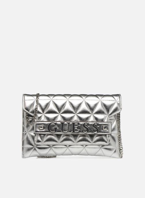 Clutch bags Guess LAIKEN MINI CROSSBODY CLUTCH Silver detailed view/ Pair view