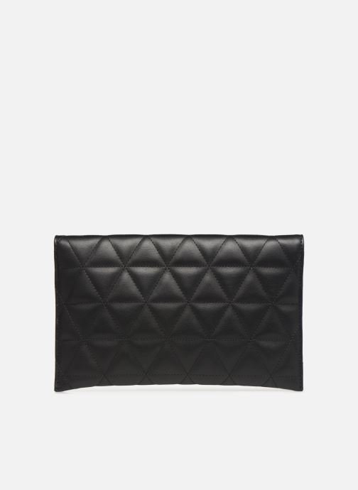 Bolsos Clutch Guess LAIKEN MINI CROSSBODY CLUTCH Negro vista de frente