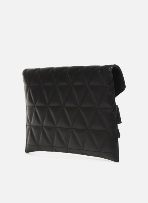 Clutch bags Guess LAIKEN MINI CROSSBODY CLUTCH Black view from the right