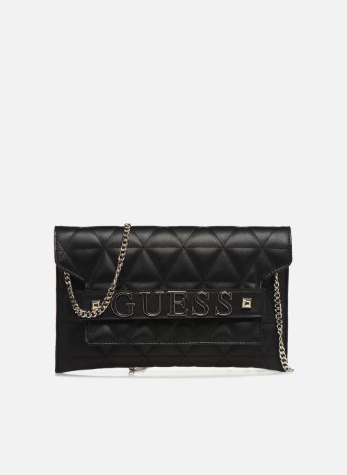 Clutch bags Guess LAIKEN MINI CROSSBODY CLUTCH Black detailed view/ Pair view