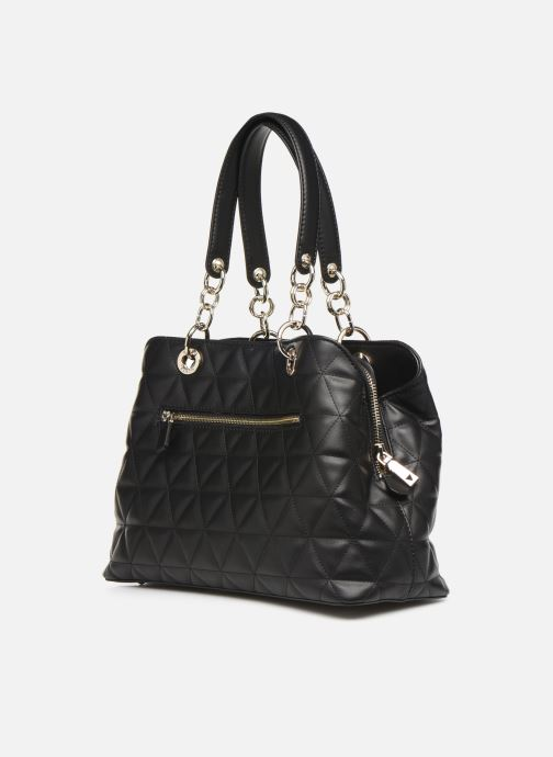 Bolsos de mano Guess LAIKEN GIRLFRIEND SATCHEL Negro vista lateral derecha