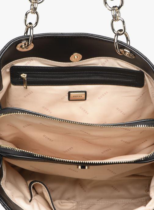 Handtassen Guess LAIKEN GIRLFRIEND SATCHEL Zwart achterkant