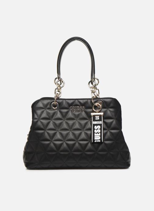 Handtassen Guess LAIKEN GIRLFRIEND SATCHEL Zwart detail