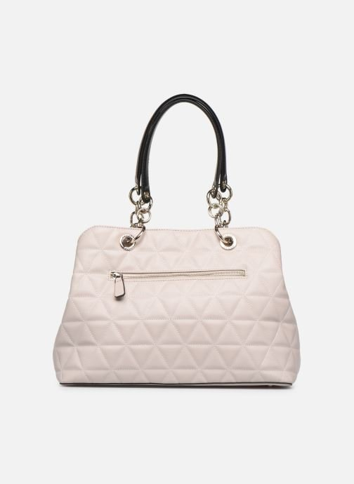 Sacs à main Guess LAIKEN GIRLFRIEND SATCHEL Rose vue face