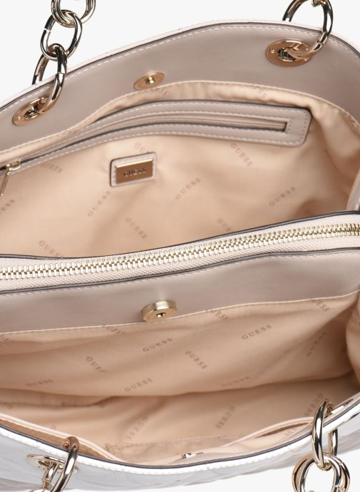 Sacs à main Guess LAIKEN GIRLFRIEND SATCHEL Rose vue derrière
