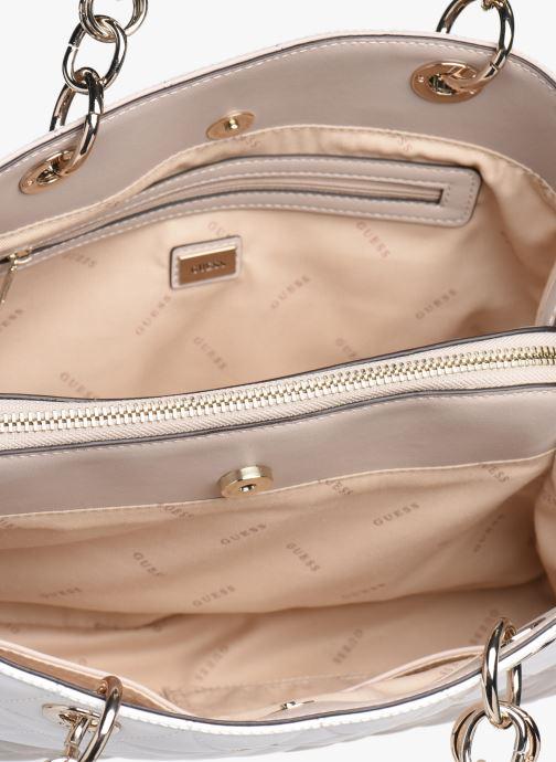 Handtassen Guess LAIKEN GIRLFRIEND SATCHEL Roze achterkant