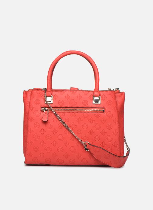 Sacs à main Guess PEONY CLASSIC GIRLFIEND CARRYALL Rouge vue face