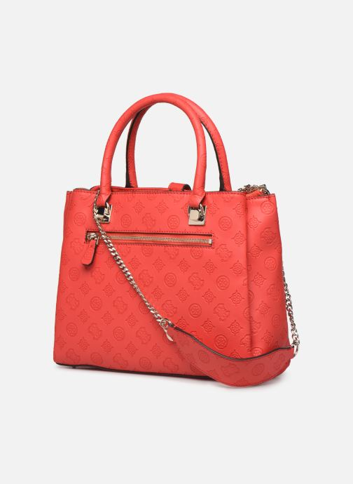 Sacs à main Guess PEONY CLASSIC GIRLFIEND CARRYALL Rouge vue droite