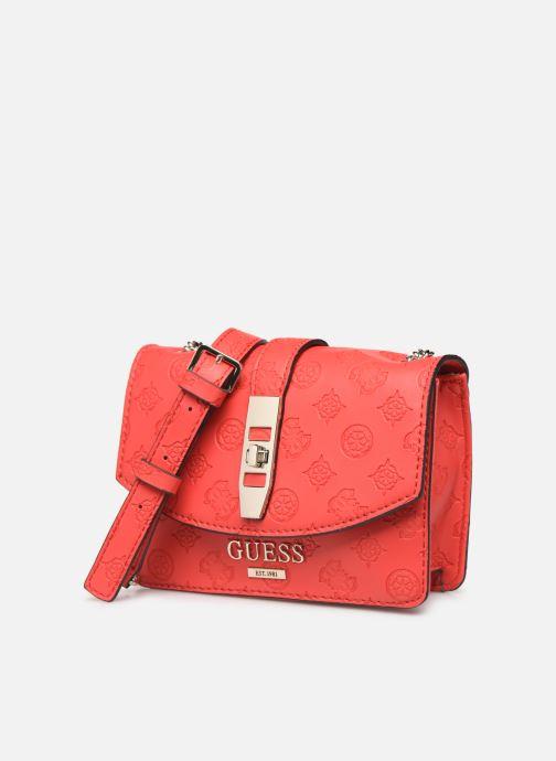 Handtassen Guess PEONY MINI CROSSBODY FLAP Rood model