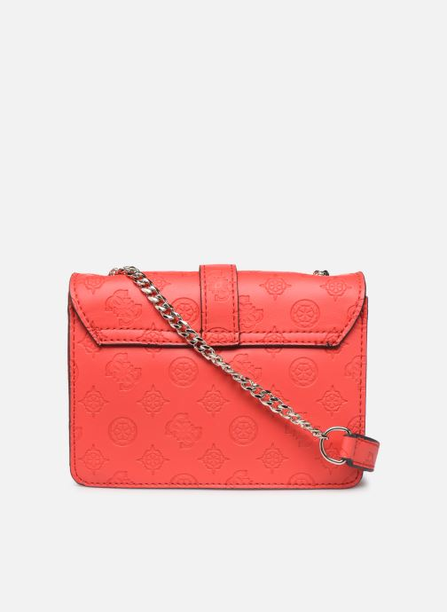 Sacs à main Guess PEONY MINI CROSSBODY FLAP Rouge vue face