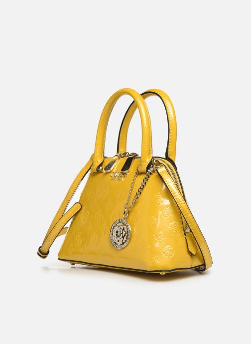 Guess PEONY SHINE SMALL DOME SATCHEL (Giallo) Borse chez