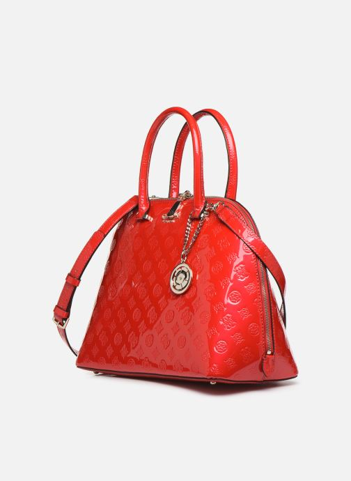 Guess PEONY SHINE LARGE DOME SATCHEL (Rood) Handtassen