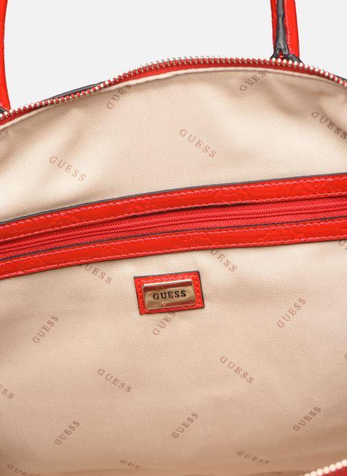 Guess PEONY SHINE LARGE DOME SATCHEL (Rood) Handtassen