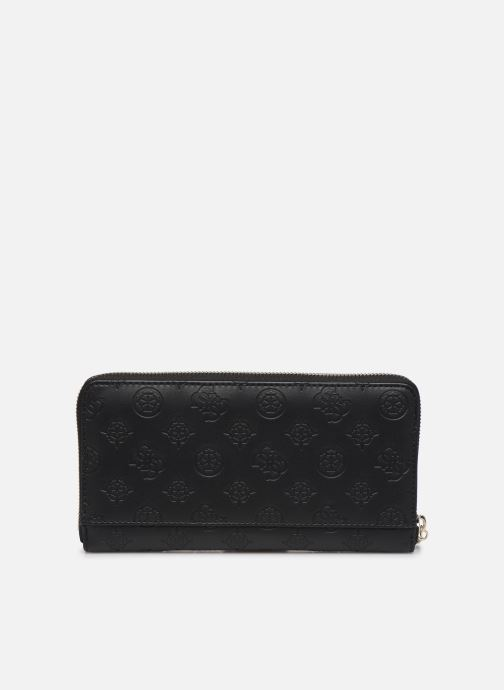 Wallets & cases Guess PEONY CLASSIC CHEQUE ORGANIZER Black front view