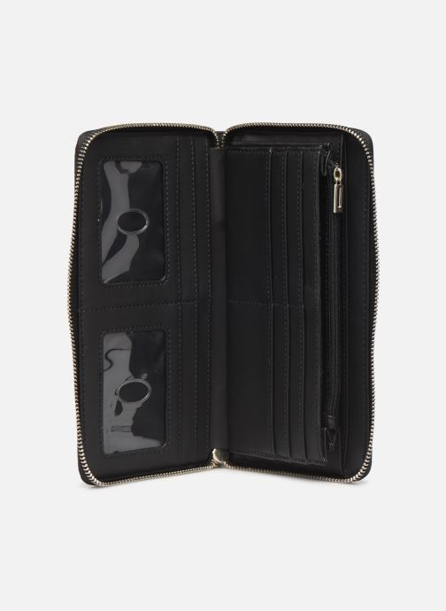 Wallets & cases Guess PEONY CLASSIC CHEQUE ORGANIZER Black back view