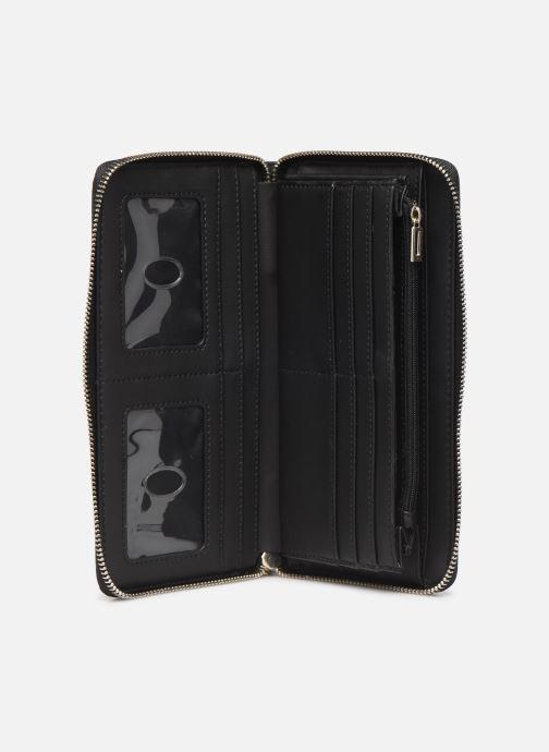 Portemonnaies & Clutches Guess PEONY CLASSIC CHEQUE ORGANIZER schwarz ansicht von hinten