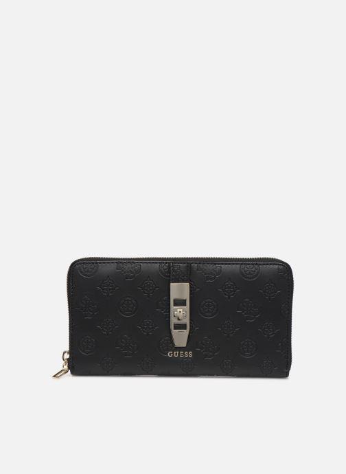 Portemonnaies & Clutches Guess PEONY CLASSIC CHEQUE ORGANIZER schwarz detaillierte ansicht/modell