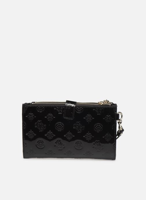 Wallets & cases Guess PEONY SHINE SLG DOUBLE ZIP ORGANIZER Black front view