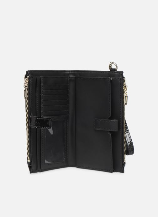 Wallets & cases Guess PEONY SHINE SLG DOUBLE ZIP ORGANIZER Black back view