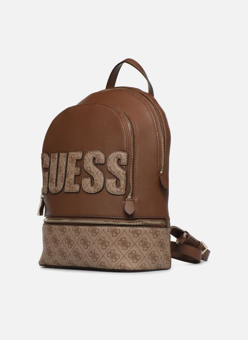 Rugzakken Guess SKYE LARGE BACKPACK Bruin model
