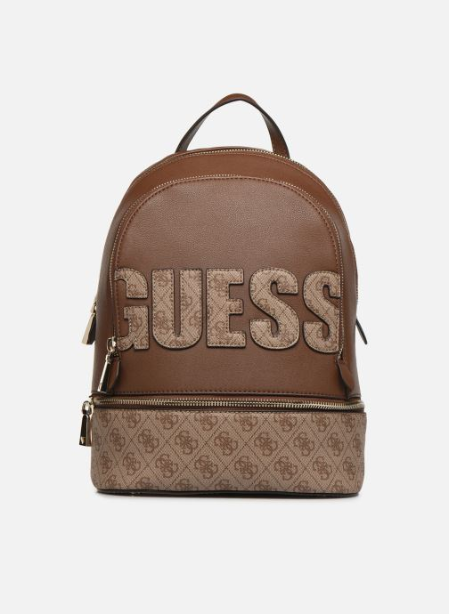 Rugzakken Guess SKYE LARGE BACKPACK Bruin detail