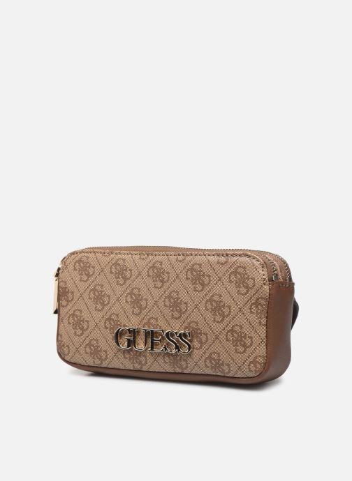 Guess SKYE DOUBLE ZIP BELT BAG (braun) Portemonnaies