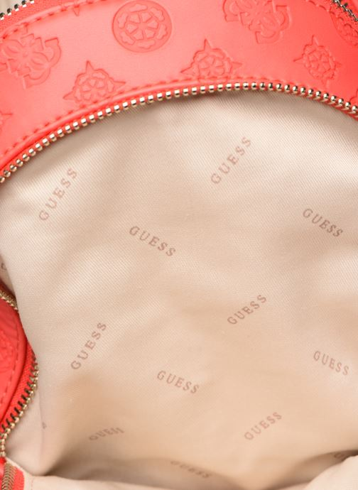 Sacs à dos Guess SKYE SMALL BACKPACK Rouge vue derrière